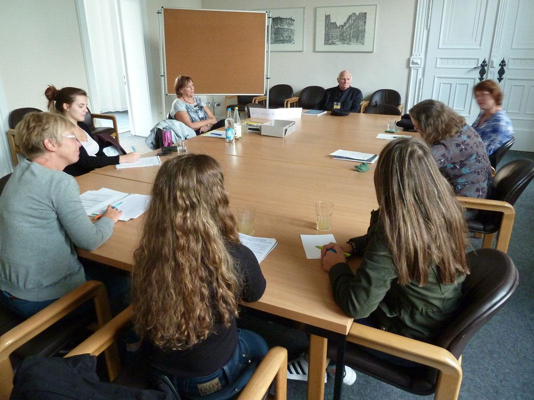 Goethe Schule Harburg mit vernetzter bildung in die zukunft netzwerktreffen erfolgreich